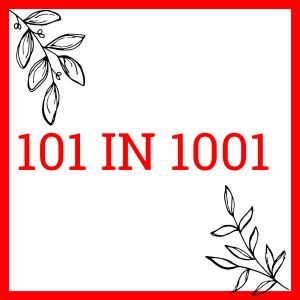 101 in 1001. Not a pedestrian life