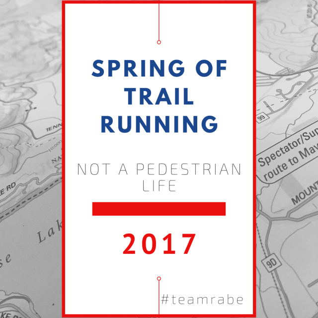 A spring of trail running