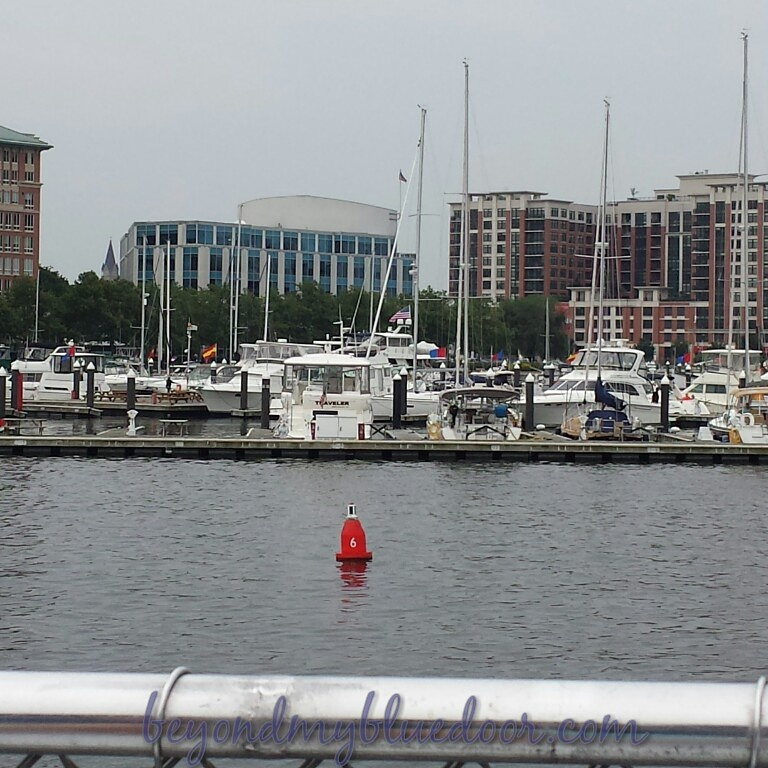 travel, travel blog, places to see in Baltimore, Baltimore Marriott Inner Harbor, Seven Foot Knoll Lighthouse, Ben and Jerry's