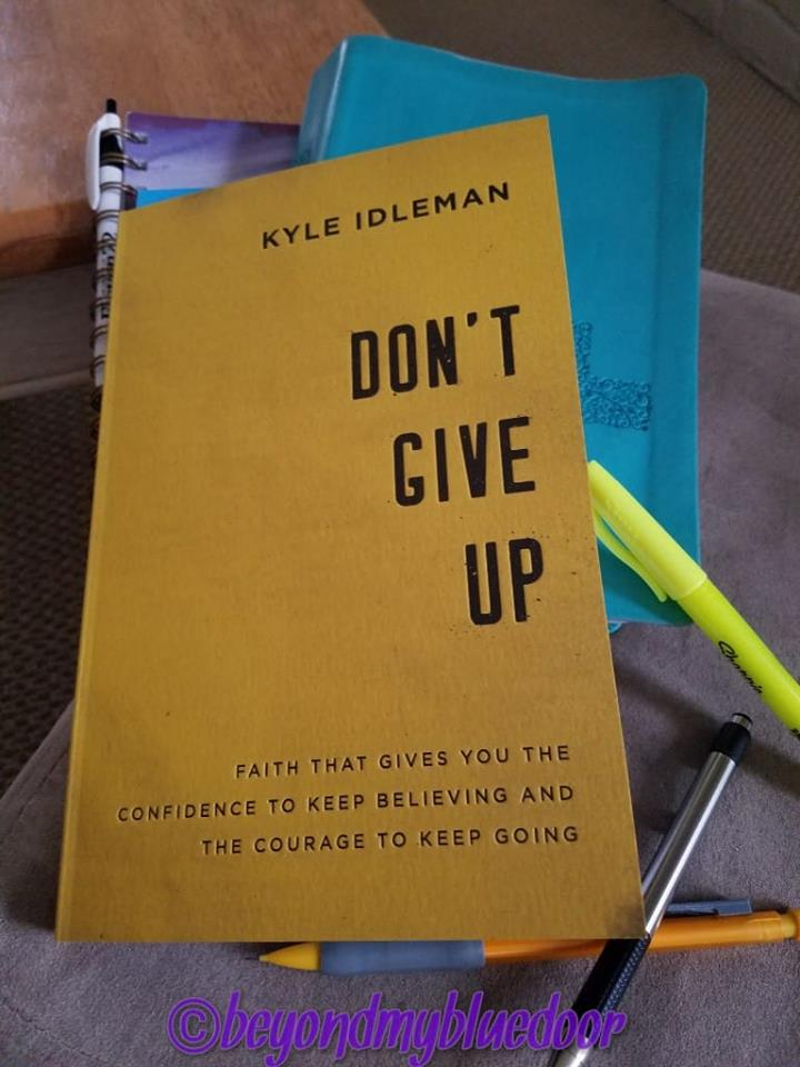 Don't Give Up book, Kyle Idleman, accidental living, marriage, it matters who you marry, marriage is forever, God is about marriage, God is in your marriage