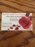 Red Rose Mobile Notary Service