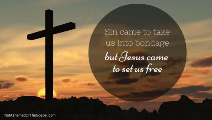 is religion evil sin bondage