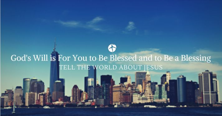 tell the world about Jesus because it's God's will