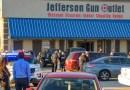 Tiroteo en tienda de armas de Louisiana deja tres muertos y dos heridos
