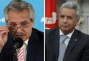 """«Yo no soy Lenín Moreno», dice Alberto Fernández, y Ecuador presenta una protesta """"enérgica»"""