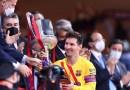 ¿Será un adiós? Los compañeros de Messi hicieron fila para tomarse fotos con él tras ganar la Copa del Rey