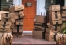 Una mujer recibió 150 paquetes de Amazon por error y decidió donarlos a hospitales locales
