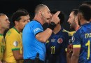 Polémica arbitral empaña la victoria de Brasil sobre Colombia en la Copa América