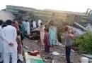 Accidente de tren en el sur de Pakistán deja decenas de muertos