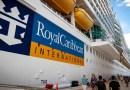 Royal Caribbean pospone una navegación inaugural después de que 8 miembros de la tripulación del barco dieran positivo por covid-19