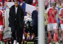 Jugador de Dinamarca se desploma en la cancha en partido de la Eurocopa