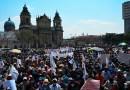 Presidente de Guatemala anuncia que decretará estado de prevención para prohibir las manifestaciones en el país