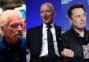 Richard Branson, Jeff Bezos y Elon Musk: la carrera multimillonaria del turismo espacial