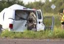 10 muertos y 20 heridos en accidente de furgoneta cerca de Encino, Texas; habría inmigrantes indocumentados