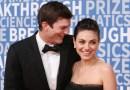 Ashton Kutcher y Mila Kunis demuestran que su familia sí está a favor de bañarse