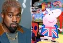 Peppa Pig parece haber trolleado a Kanye West