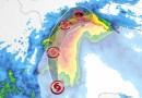 La tormenta tropical Nicholas se forma sobre el Golfo de México, con Texas en su camino