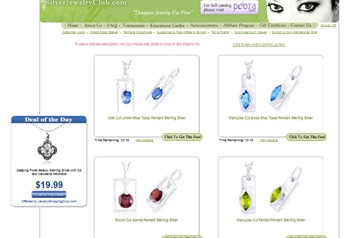 silver jewelry club free designer jewelry free