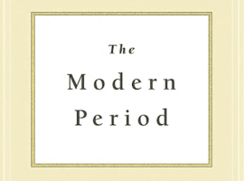 The Modern Period: Menstruation and the History of Sexuality