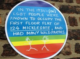 Rainbow Plaques: Mapping York's LGBT History