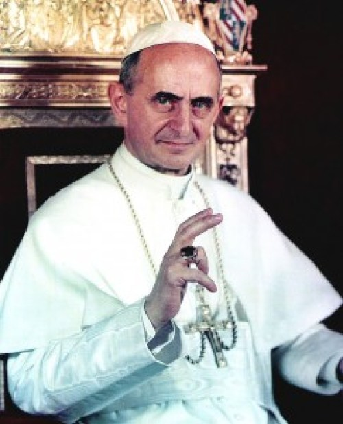 Pope Paul VI. (Wikimedia Commons)