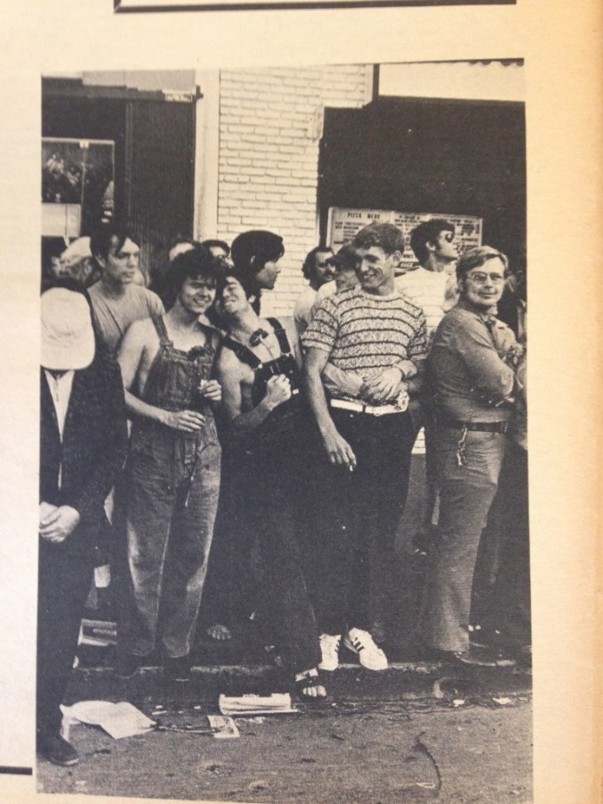 Image from Gay Sunshine, August 1971