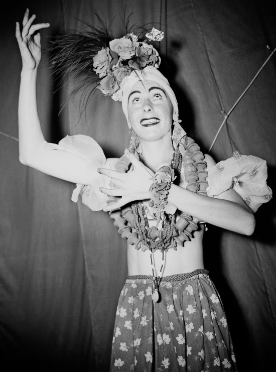 Private Maurice Earley as Carmen Miranda