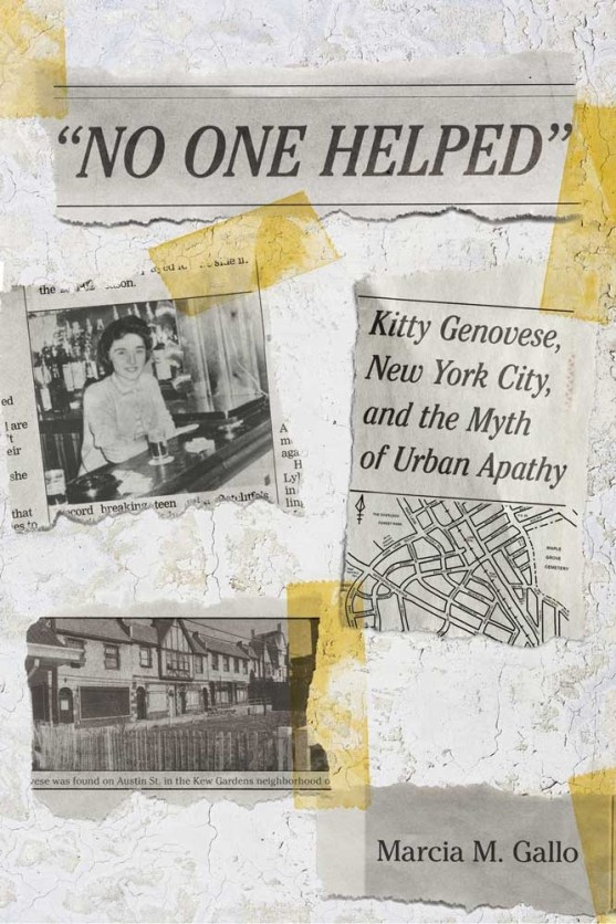 No One Helped': Marcia Gallo on the murder of Kitty Genovese