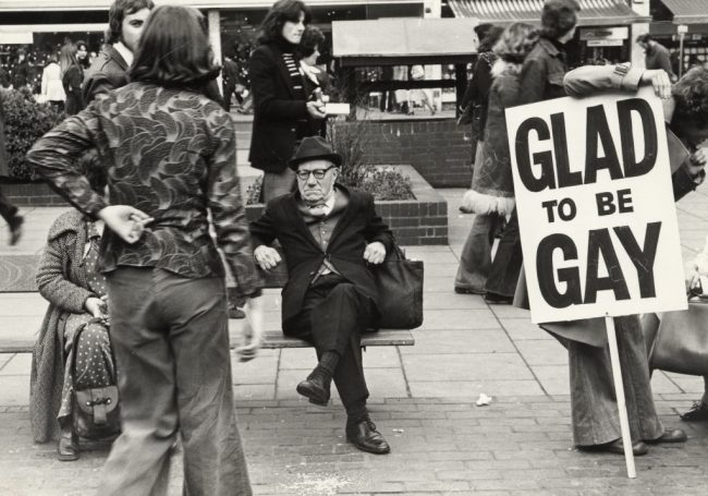 Demonstration against British Home Stores, Churchill Square, Brighton, 21 February 1976 (Image courtesy of Bishopsgate Institute)