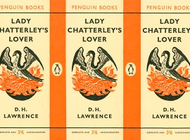 Front cover of 'Lady Chatterley's Lover', Penguin edition, 1960