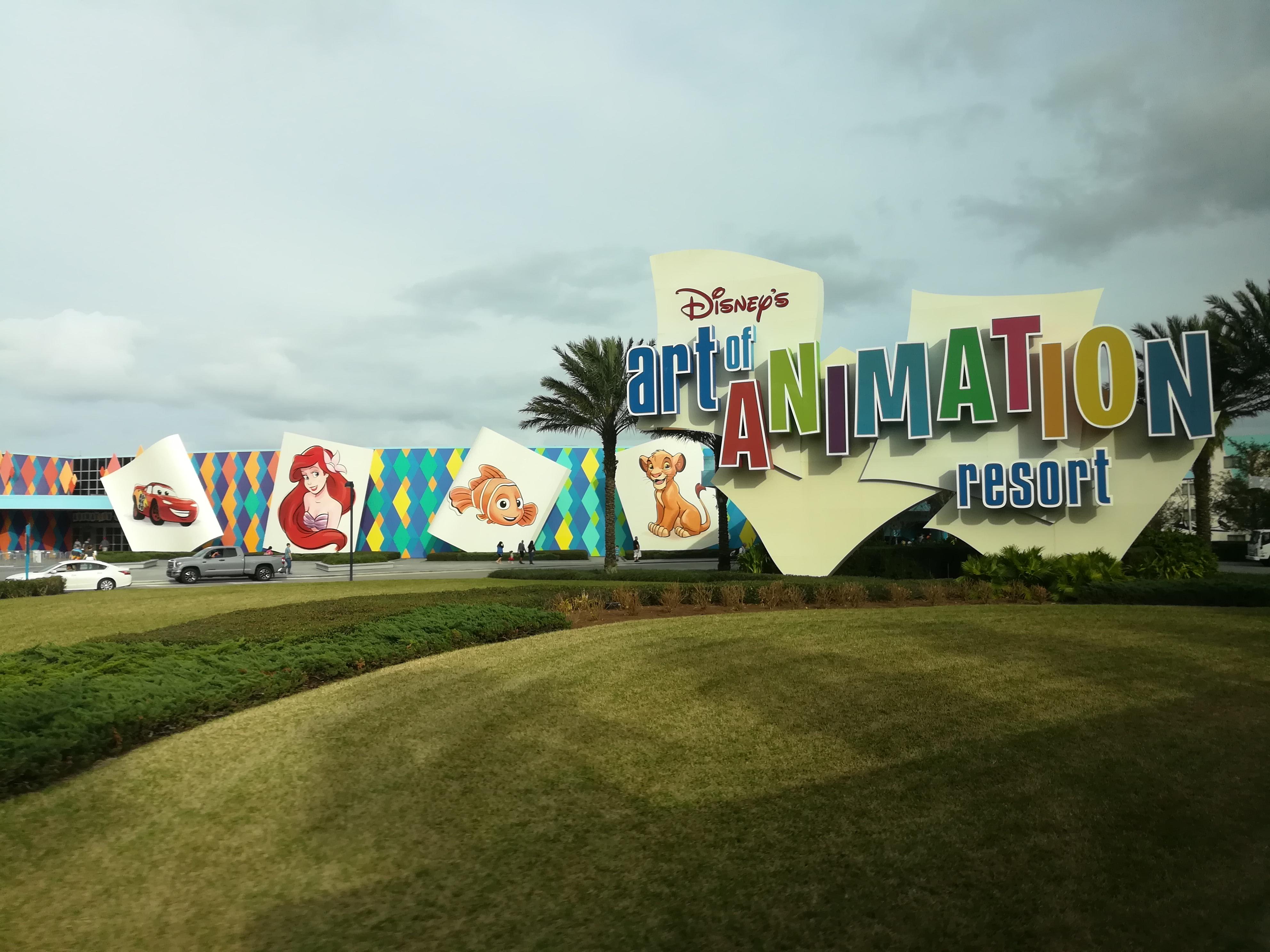 Disney's Art of Animation Resort: A Trip Report