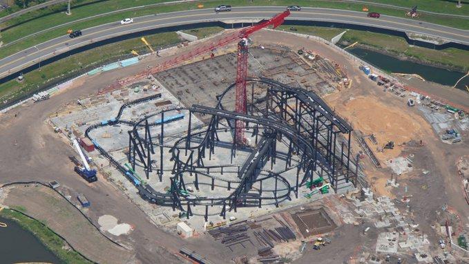Walt Disney World Construction Photos (July 2019)