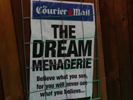 THE DREAM MENAGERIE