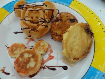 Mickey Themed Food