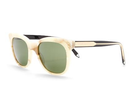 I don't mind if Vickie Beckham puts her name on these sunglasses; they're adorable.