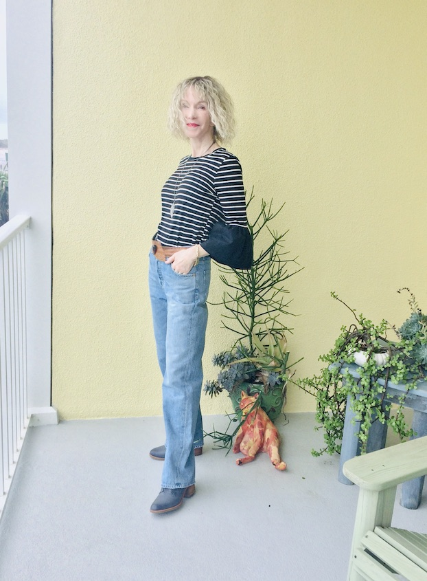 casual look with jeans