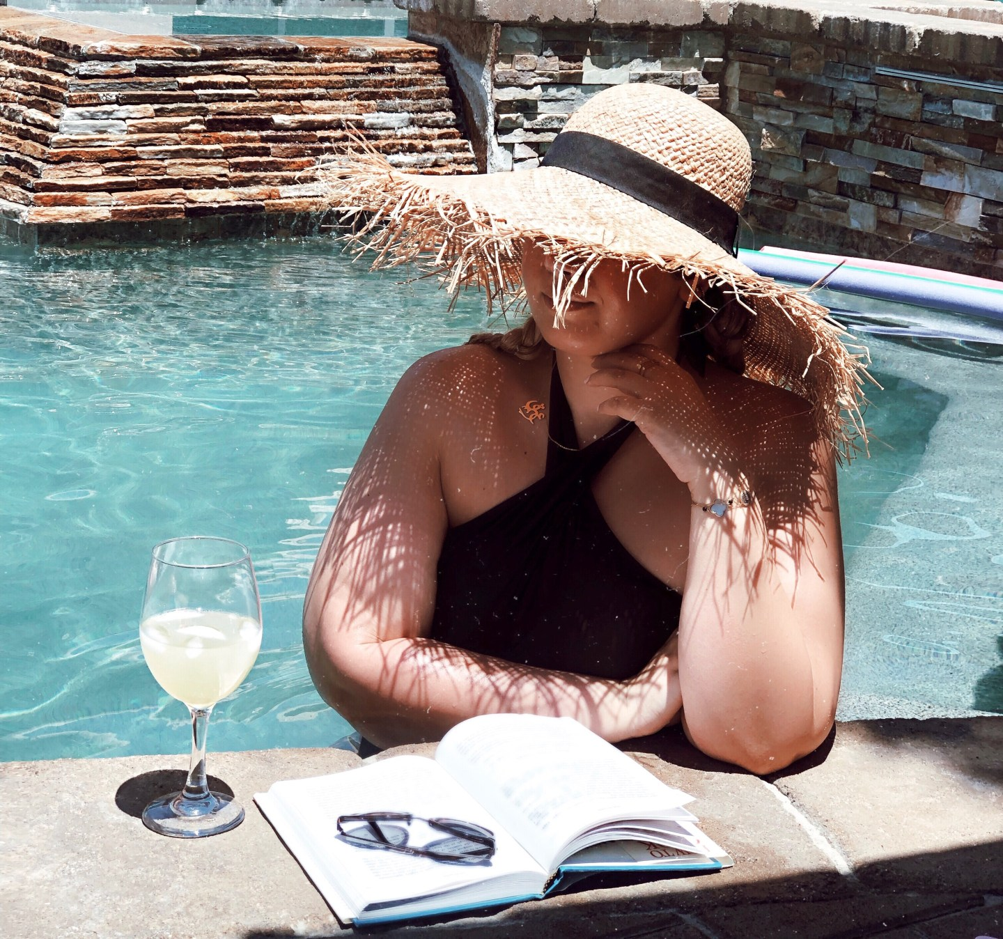   Skin & hair care after pool day or tropical vacation  