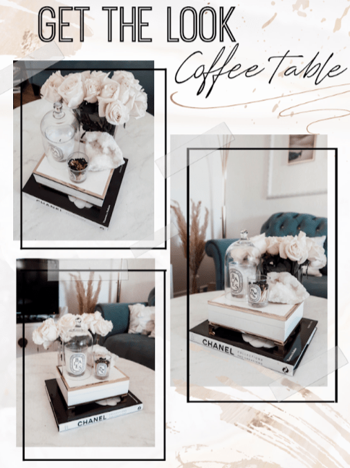   Get the look- Coffee table  