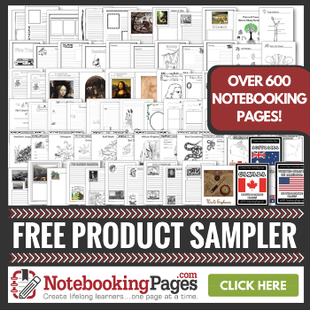 Free Notebooking Pages Sampler