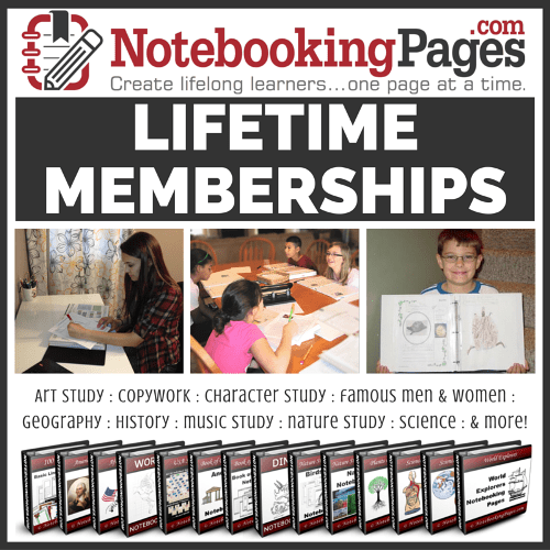 Notebooking Pages LIFETIME Membership
