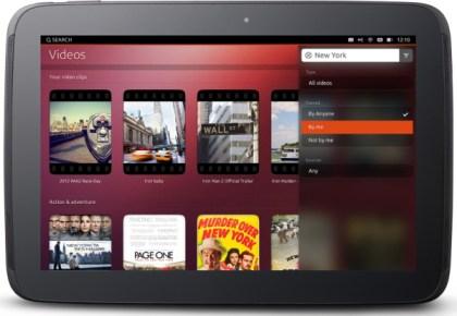 Ubuntu per Tablet