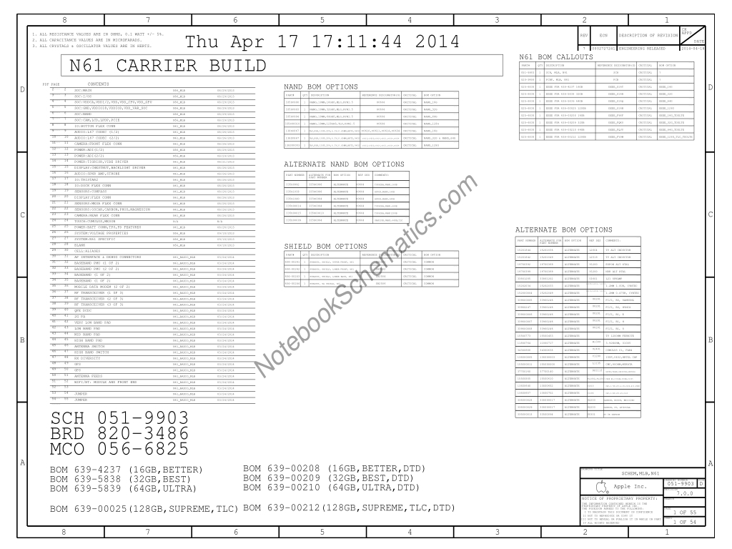 Iphone 6 N61 Schematic And Boardview