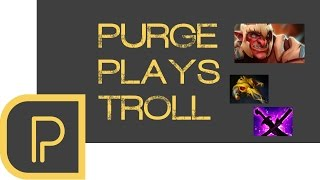 Dota 2 Purge Plays Troll Warlord