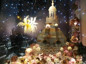 Les vitrines de Noël du Printemps Haussmann 2015 (3)