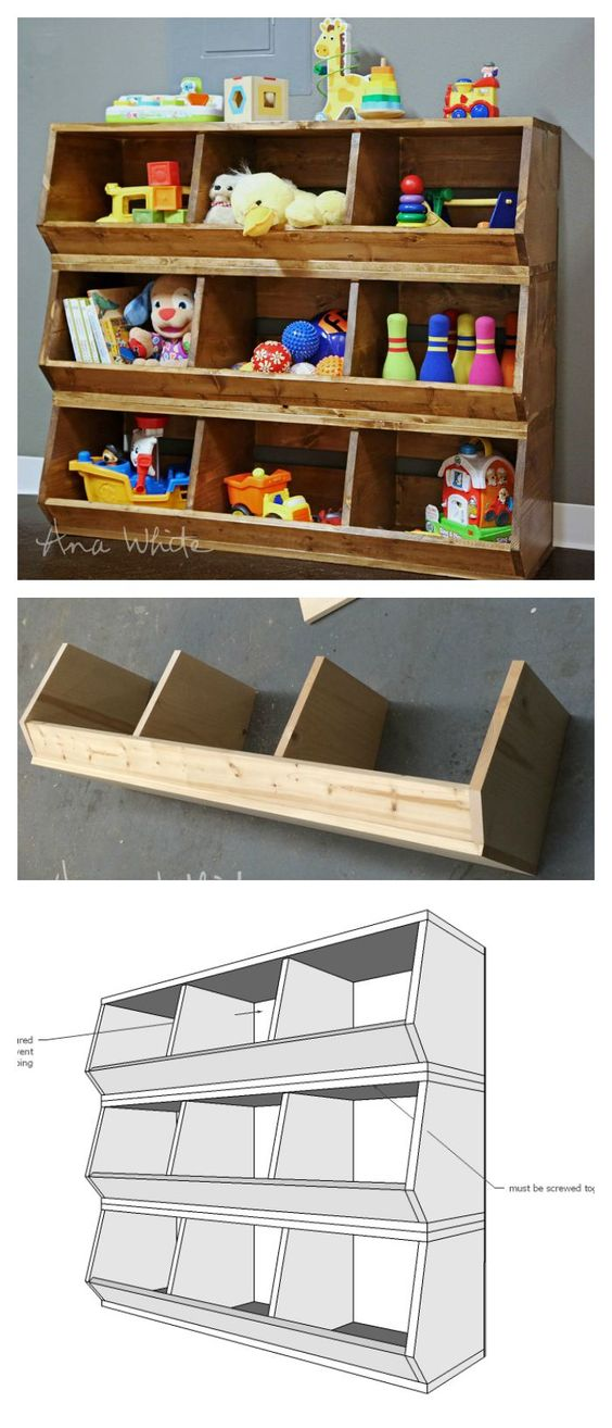 25 Clever DIY Toy Storage Solutions Amp Ideas Noted List