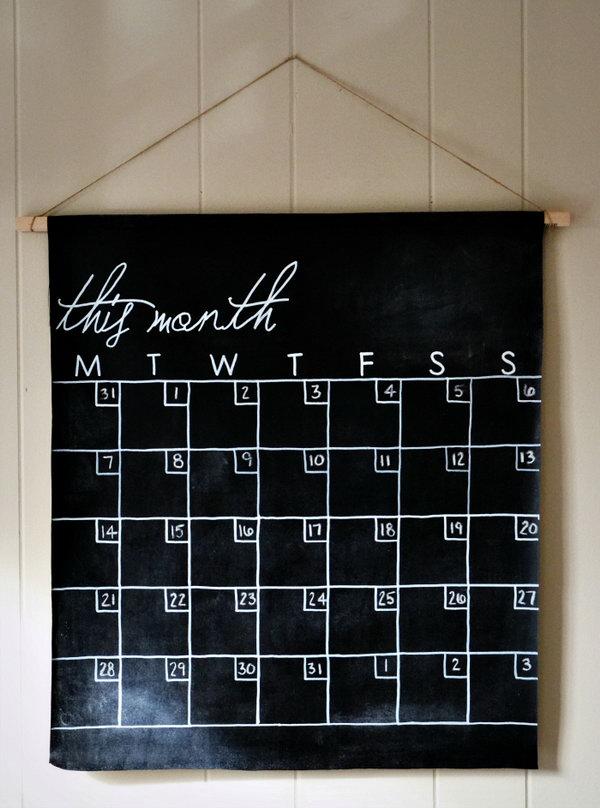 20 Fun And Easy DIY Chalkboard Ideas Noted List