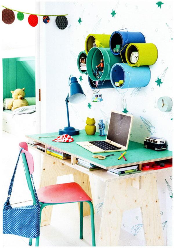 25 Creative DIY Storage Ideas To Organize Kids Room