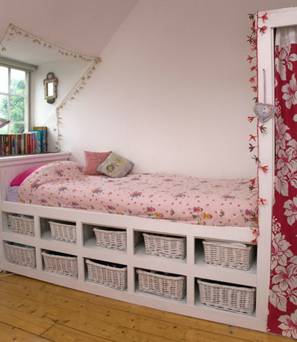 Creative Under Bed Storage Ideas For Bedroom Noted List