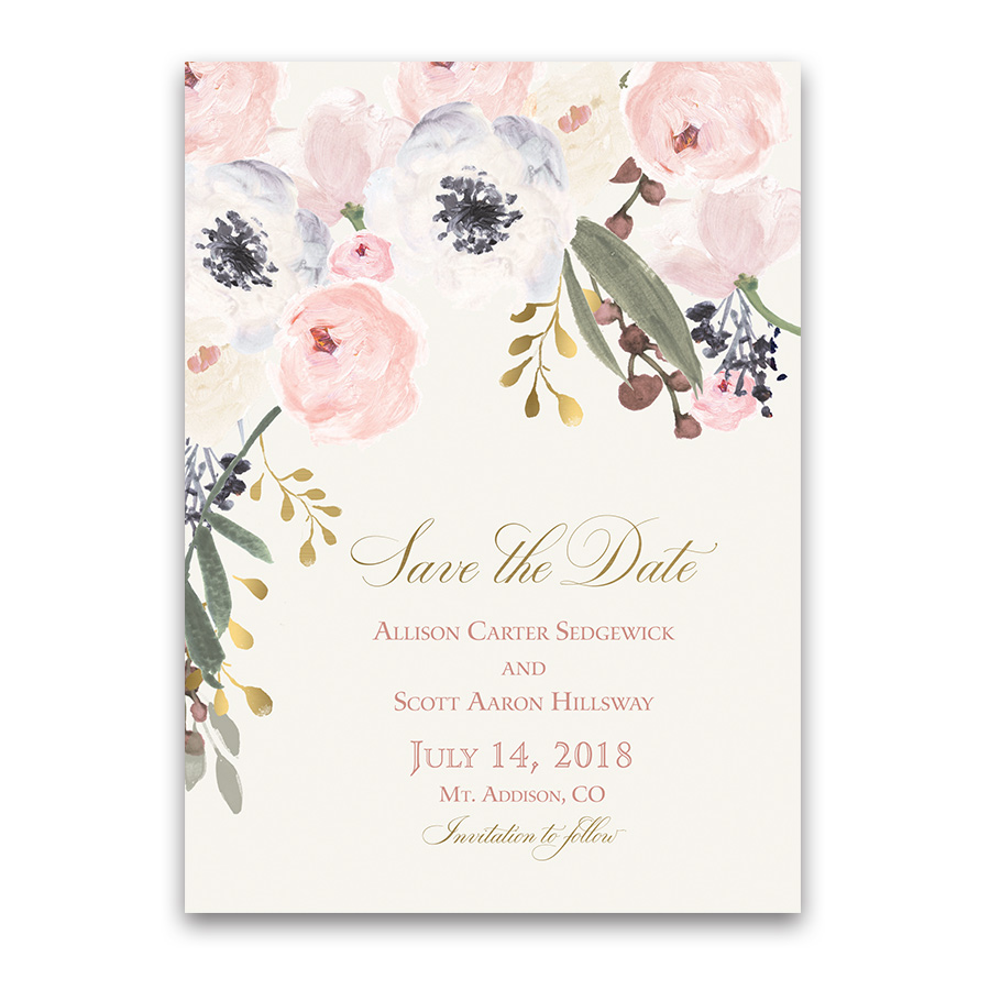 Save Date Cards Wedding Reception Only