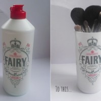 DIY Fairy Jubilee Make-up Brush Holder